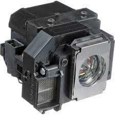 Image 1 of Epson Lamp For Eb-s7/ S8/ X8/ W8 Projectors Epson Elplp54 Replacement Lamp For Eb-s7