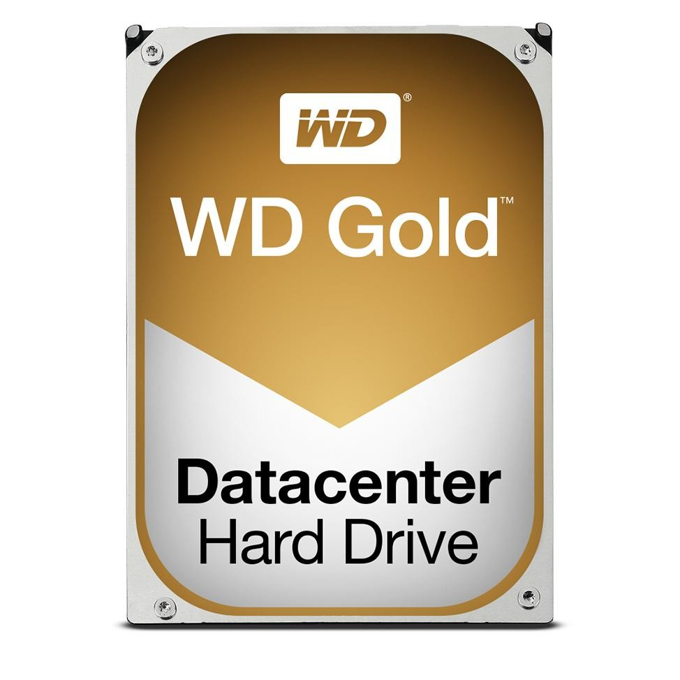 "Image 1 of Western Digital 8TB Gold Enterprise 3.5"" SATA 128MB 24x7 7200RPM 6Gb/ s. DATACENTER Top of the WD8002FRYZ"