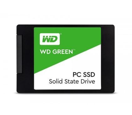 "Image 1 of Western Digital Ssd 2.5"": 480gb Green 3d Nand 7mm Sata3 6gb/ S Sequential Up To Read/ Write: 545mb/ WDS480G2G0A"