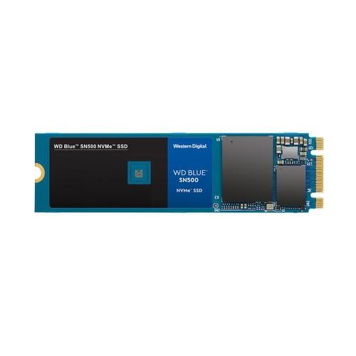 Image 1 of Western Digital Wd 500Gb Blue Nvme Ssd M.2 Pcie Gen3 X2 5Y Warranty Sn500 Wds500G1B0C WDS500G1B0C