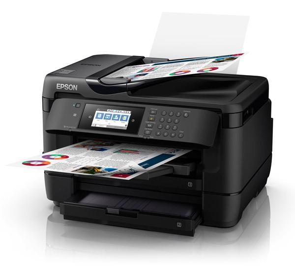 Image 1 of Epson Mfp Fax 32ppm(b) 20ppm© 4800 X 2400 Dpi 4x Individual Durabrite Ultra C11cg37504 C11CG37504