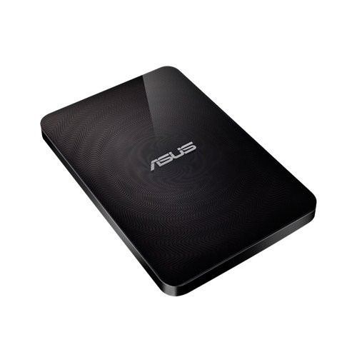 ASUS TRAVELAIR N WHD-A2 WIRELESS HARD DRIVE AND SD CARD READER WITH  ONE-TOUCH NFC USB 3 0 SD