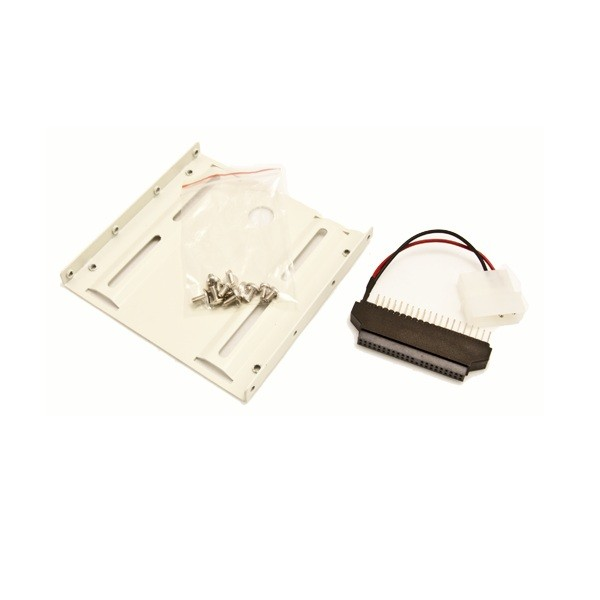 "Image 1 of Wicked Wired 3.5"" Male 40pin To 2.5"" Female 44pin Ide Adapter With Mounting Kit Ww-d-ide25-35 WW-D-IDE25-35"