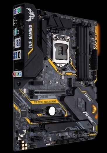 Asus Intel Z390 Atx Gaming Motherboard With Optimem Ii Aura Sync Rgb Led  Lighting Ddr4 4266+ Mhz