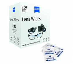 Zeiss Individually Wrapped Moist Smartphone Wipes 200x Pack, Professional Cleaning for Smartphones & Camera Lenses