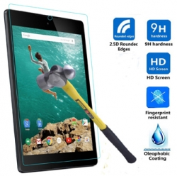 I-tech Premium Tempered Glass Screen Protector For Google Nexus 9 Tablet With 2.5d Curved Edge