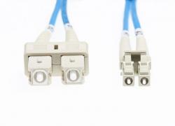 3M Lc-Sc Om1 Multimode Fibre Optic Cable: Blue Fl.Om1Lcsc3Mb