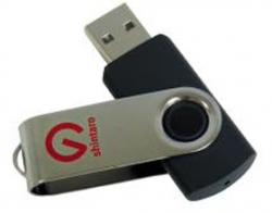 Shintaro 8gb Rotating Pocket Disk Sh-r8gb