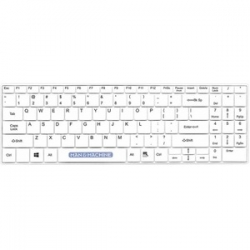 Man and Machine IT'S COOL WIRELESS OPEN-STYLE KEYBOARD WHITE - VALUE WASHABLE (ITSC/WI/W5)