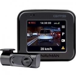 NAVMAN MIVUE830 DUAL CAMERA DASHCAM 2INCH LCD SCREEN 2-CH DUAL 1080P FULL HD FRONT REAR RECORDING  (AA001830)
