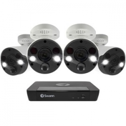 Swann 4 Camera 8 Channel 4K Ultra HD NVR Security System (SWNVK-886804FB-AU)