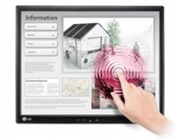 "Lg 17mb15t Blk 17"" Led Tn Touchscreen, 4:3 5ms, 1280x1024 Resolution, 2000:1 Contrast, Vesa 75x75"