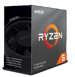 AMD Processor: Socket Am4 6 Core Ryzen 5 3600