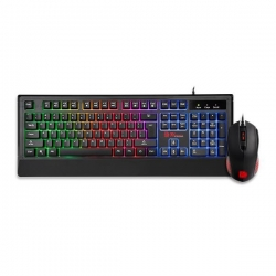 Thermaltake Challenger Duo Gaming Keyboard & Mouse Combo (Cm-Chd-Wlxxpl-Us)