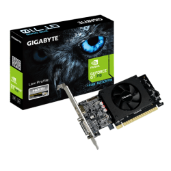 Gigabyte Nvidia Geforce Gt 710 1Gb 4096X2160 Displays - GV-N710D5-1GL