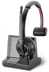 Plantronics Savi W8210 3-in-1 Over-the-head Mono W/ Less Uc Dect System (pc/ Deskphone) 207309-04