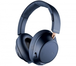 Plantronics Backbeat GO 810 Wireless Bluetooth Active Noise Cancelling Headphones Navy Blue 211821-99