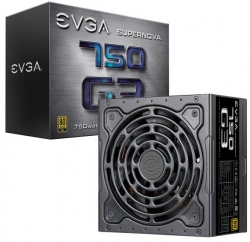 Evga Psu: 750w 80plus Gold 92% Supernova G3 Full Modular 130mm Fan 6x Pcie Multi Rail 220-g3-0750-x4