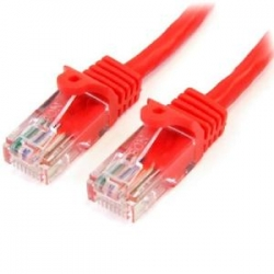 Startech 3 M Red Cat5e Snagless Rj45 Utp Patch Cable - 3m Patch Cord - Ethernet Patch Cable - Rj45