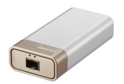 Qnap Single Port Thunderbolt3 To Single Port 10gbe Sfp+ Adapter Bus Powered Qna-t310g1s