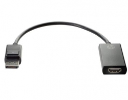 Hp Displayport To Hdmi True 4K Adapter (2Ja63Aa) 2Ja63Aa