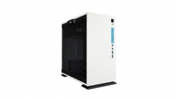 In Win 301 Micro-atx Case White Secc Tempered Glass Side Panel Gaming Chassis Only No Psu 301-white