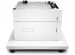 HP LaserJet 1x550-sheet and 2000-sheet HCI Feeder and Stand J8J92A