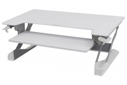 Ergotron Workfit Tl White Sit Stand Tabletop 33-406-062