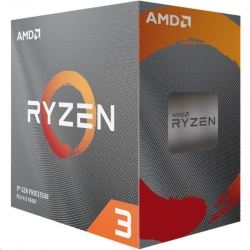 AMD Ryzen 3 3100 Processor: Socket AM4, Quad Core 8 Threads, up to 3.90GHz (Ryzen 3 3100)