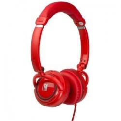 Verbatim On-ear Street Audio Headphones - Red 65070