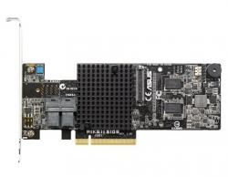 Asus Pikeii 3108 8-ports 16-disk Sas12g Raid Card Supporting Raid 0 1 10 5 6 50 60 / 2gb Cache Pike