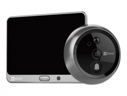 """Ezviz Dp1 Smart Door Viewer Camera Motion Detection 2-Way Audio 4.3"""" Touch Screen Cs-Dp1-A0-4A1Wpfbsr"""