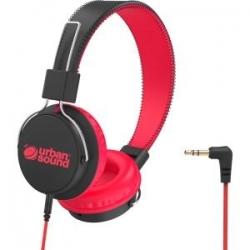 Verbatim Urban Sound Volume - Limiting Kids Headphones - Black/red 65482