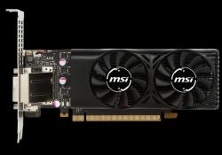 Msi Nvidia Geforce Gtx 1050 Ti 4gt Lp Graphic Card Gddr5 128bit Dx12 Dual-link Dvi-d X 1 Displayport