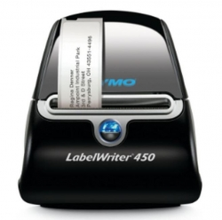 Dymo Black Labelwriter Lw450 With Built-in Wi-fi Label Printer. Works With Mac, Pcs, Smartphones, And Tablets. Direct Thermal And Thermal 2008209