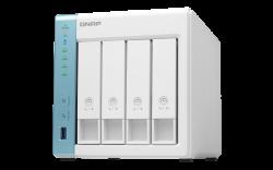 QNAP TS-431K 4-Bay TurboNAS,Alpine AL-214 ARM v7 Quad-core 1.7GHz CPU, 1GB RAM (TS-431K)