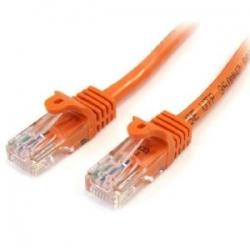 Startech 3 M Orange Cat5e Snagless Rj45 Utp Patch Cable - 3m Patch Cord - Ethernet Patch Cable
