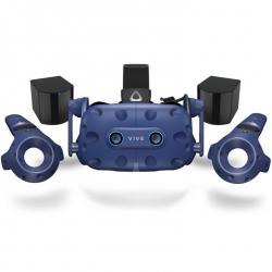 HTC Vive Pro Eye Virtual Reality Headset Kit HMD 2 X BASE STATION 2.0 2 X CONTROLLERS 99HARJ003-00