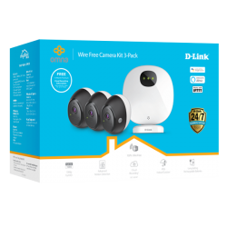 D-link Omna Wire-Free Camera Kit 3-Pack (Dcs-2803Kt)