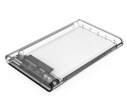 "Orico Transparent 2.5"" USB 3.0 External SATA Hard Drive Enclosure Clear Orc-2139u3-pro-cr"