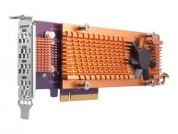 QNAP QM2-2S-220A Dual M.2 22110/2280 SATA SSD Expansion Card (QM2-2S-220A)