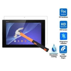 I-tech Premium Tempered Glass Screen Protector For Sony Z2 Tablet With 2.5d Curved Edge