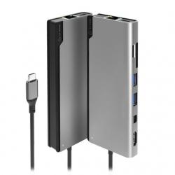 Alogic Ultra Usb-C Dock Plus - Space Grey Uldpls-Sgr