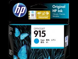 Hp 915 Cyan Original Ink Cartridge 3Ym15Aa