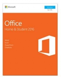 Microsoft Office Home And Student 2016 Retail Box Medialess P2 79g-04751