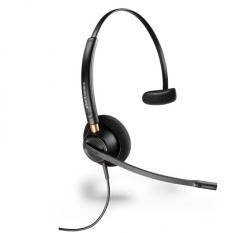 Plantronics Encorepro Hw510v Over-the-head Wideband Monauralvoice Tube Corded Headset 89435-01