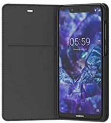 Nokia 5.1 Plus Flip Cover Black 8p00000015