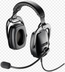 Plantronics Shr2083-01 Dual-ear Circumonaural Headset Ruggedized With Qd 92083-01