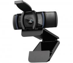 Logitech C920e Business Webcam, 1080p HD Video, Stereo Dual Mic, HD Auto Focus, Privacy shutter 960-001360