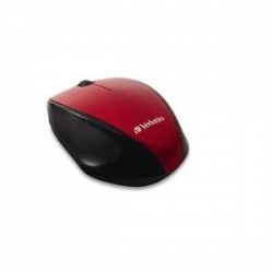 Verbatim Wireless Optical Multi-trac Blue Led Mouse - Red 97995